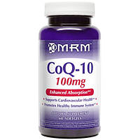 Купить MRM CoQ-10 100 mg 60 softgels