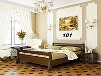 Кровать Диана двуспальная Бук Щит 101 (Эстелла-ТМ)