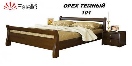 Кровать Диана двуспальная Бук Щит 101 (Эстелла-ТМ), фото 2