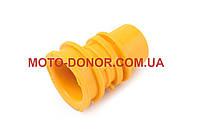 """Патрубок воздушного фильтра на скутер   Honda DIO AF18/27   """"KOMATCU""""   (желтый)"""