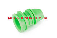 """Патрубок воздушного фильтра на скутер   Honda DIO AF18/27   """"KOMATCU""""   (зеленый)"""