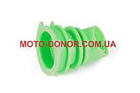 """Патрубок воздушного фильтра на скутер   Honda DIO AF34/35   """"KOMATСU""""   (зеленый)"""