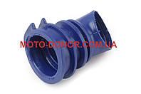 """Патрубок воздушного фильтра на скутер   Honda DIO AF34/35   """"KOMATСU""""   (синий)"""