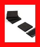 Пластины графитовые 42х42х5 мм для вакуумного насоса (Велес-7) комплект 4шт.