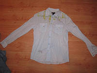 Рубашка Diesel р. XL на супер клепках!