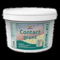 Грунтовка Contact Grunt Eskaro 3кг  – Адгезионный Грунт, Универсальный грунт (Контакт Грунт Эскаро)