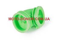 """Патрубок воздушного фильтра на скутер   Suzuki AD50   """"KOMATСU""""   (зеленый)"""