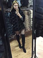 Болеро из вязаной норки