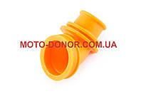 """Патрубок воздушного фильтра на скутер   Suzuki LET'S   """"KOMATCU""""   (желтый)"""