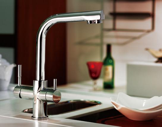 Кухонный смеситель BLUE WATER ALABAMA - SATYN, фото 2
