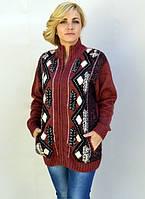 Батальный свитер на молнии