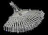 Грабли-метла раздвижные 270–460мм TECHNICS