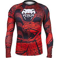 Рашгард Venum Crimson Viper с длинным рукавом мужской