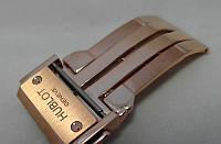 Застежка к часам Hublot LUX золотистая стальная, фото 1