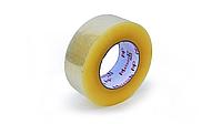 Скотч упаковочный прозрачный желтый, 48 мм*300 м
