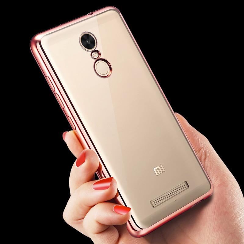 Чехол для Xiaomi Redmi Note 3 розовый
