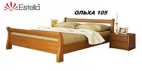 Кровать Диана двуспальная Бук Щит 105 (Эстелла-ТМ), фото 2