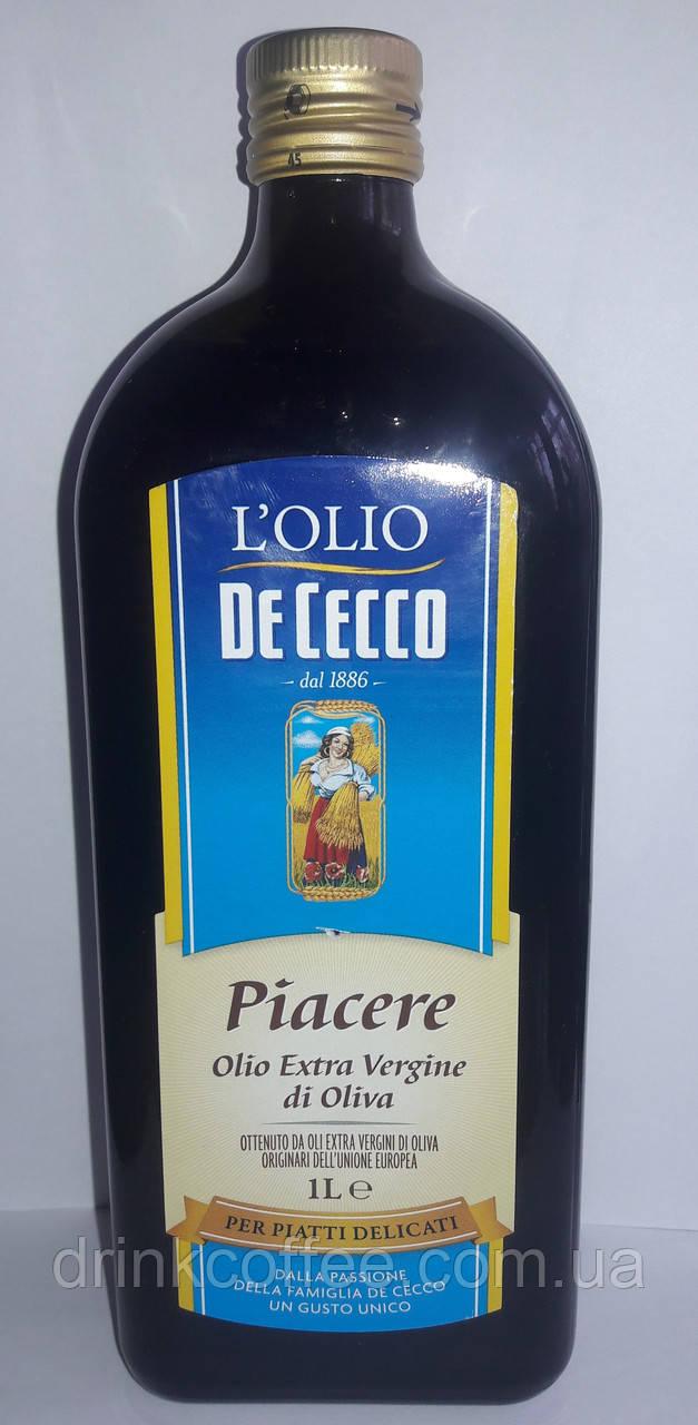 Оливковое масло De Cecco Piacere Extra Virgin, Италия, 1л