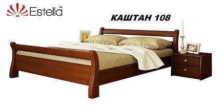 Кровать Диана двуспальная Бук Щит 108 (Эстелла-ТМ), фото 2