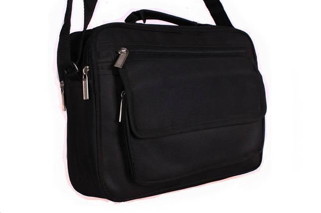 094c08ddd755 Мужская тканевая сумка с ручкой и через плечо черная купить в Киеве ...