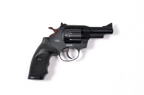 Револьвер Safari РФ 431, пластик. Револьвер под патрон Флобера. Револьверы Латэк. , фото 2