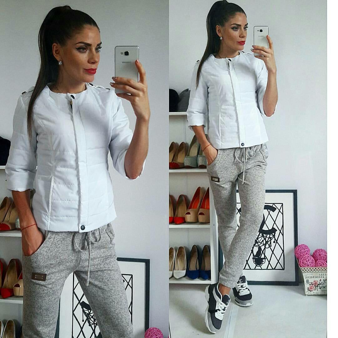 Куртка женская, модель 201, белый