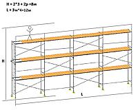 Риштування будівельні хрестові