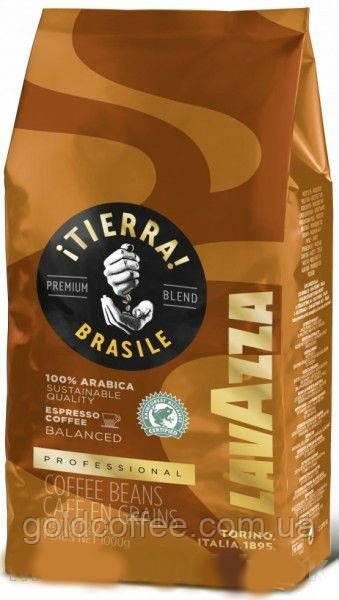 Кофе в зернах Lavazza Tierra Brazil Balanced 100% Arabica, 1 кг