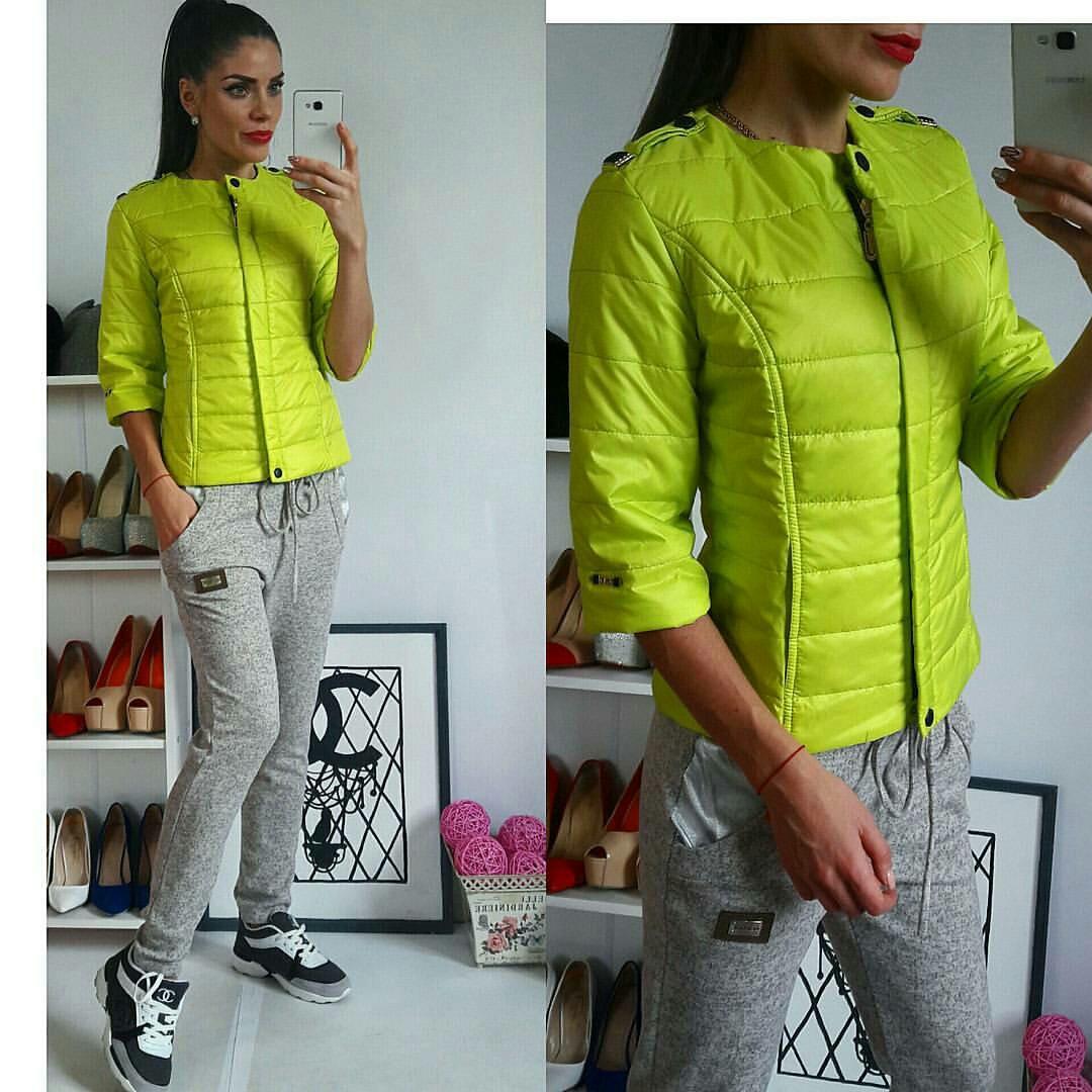 Куртка женская, модель 201, салатовый