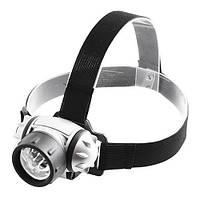 Фонарик налобный BL 050-7C, универсальный фонарик на голову, компактный налобный фонарь