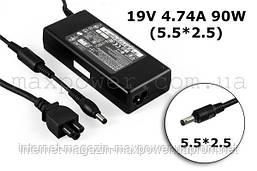 Блок питания для ноутбука MSI 19v 4.74a (5.5/2.5) ADP-90MD M510 M610 M620 M655 M670 M673 M675 M677 PR600 VR600