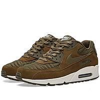 Оригинальные  кроссовки Nike W Air Max 90 Premium Dark Loden & Ivory