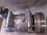 Компрессор кондиционера Renault Kangoo1.5 dCi / 1.6 16V (2008- )/ Megane II / Scenic II, фото 3