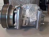 Компрессор кондиционера Renault Kangoo1.5 dCi / 1.6 16V (2008- )/ Megane II / Scenic II, фото 4
