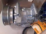 Компрессор кондиционера Renault Kangoo1.5 dCi / 1.6 16V (2008- )/ Megane II / Scenic II, фото 6