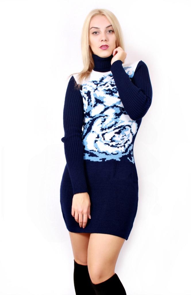 258eb15668f8437 Вязаное платье Podium: продажа, цена в Харькове. свитеры и кардиганы ...