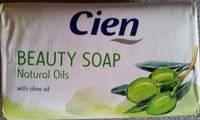 Мыло для рук Cien beauty soap natural oils 0.150 гр