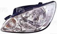 Фара, левая, Hyundai, Getz, 2006-2011, Depo