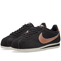 Оригинальные  кроссовки Nike W Classic Cortez Leather Lux Black & Red Bronze