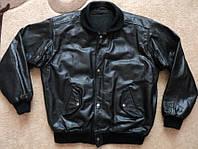Кожаная куртка пилот  р. L