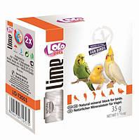 LoLo Pets Минеральный камень для птиц натуральный, 35 гр