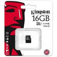 Карта памяти microSDHC (UHS-1) Kingston 16Gb class 10 R45MB/s
