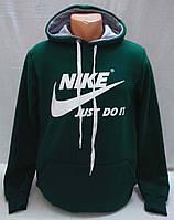 Толстовка утепленная Nike цвет зеленый р. M, 2XL