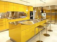 Золото в интерьере кухни: идеи и вдохновение