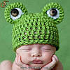 "Шапочка для малыша - ""Frog Hat"" - 6 мес."