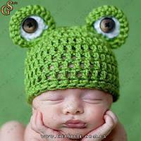 "Шапочка для малыша - ""Frog Hat"" - 6 мес., фото 1"