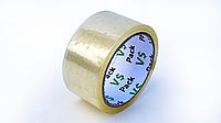 Скотч упаковочный прозрачный желтый, 45 мм*66 м