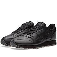 Оригинальные  кроссовки Reebok Classic Leather Solids Black