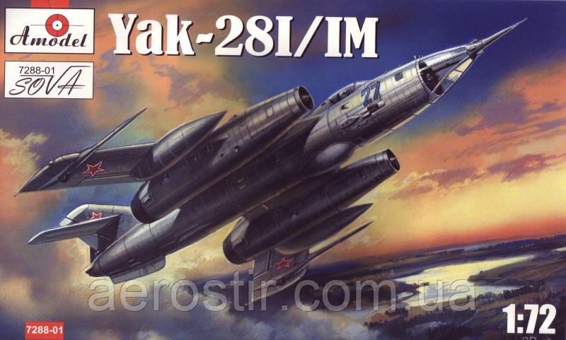 YaK- 28 I/IM 1/72 AMODEL 7288-01