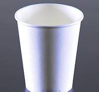 Бумажные одноразовые стаканчики белые 250 мл (уп/50шт)